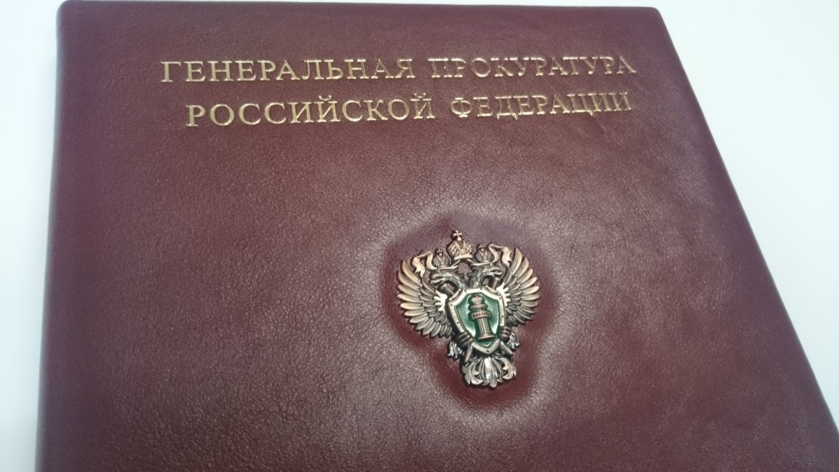 папка из винила с металлической эмблемой